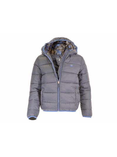 Fantovska jakna Champion s kapuco 304586 - modra BLI/BAI