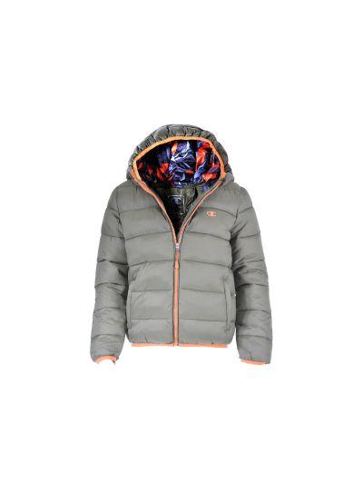 Fantovska jakna Champion s kapuco 304586 - olivno zelena FON/ORG