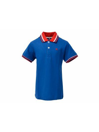 Otroška polo majica Champion® 304608 kratek rokav - svetlo modra OLB