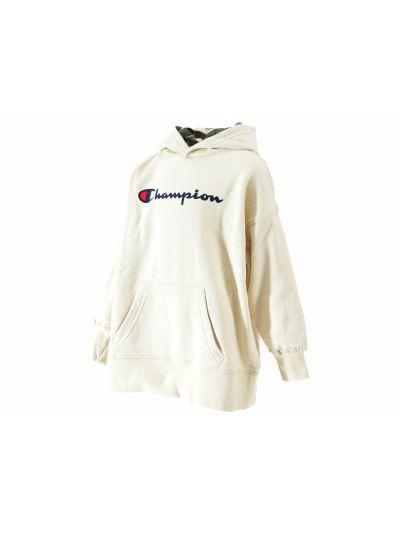 Otroški pulover Champion® s kapuco 304772 bež print