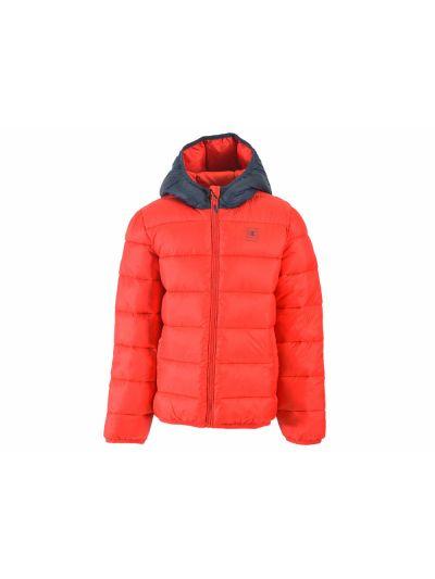 Otroška jakna Champion® s kapuco 304796 rd/navy