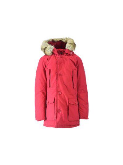 Otroška jakna Champion® s kapuco 304802 - rdeča