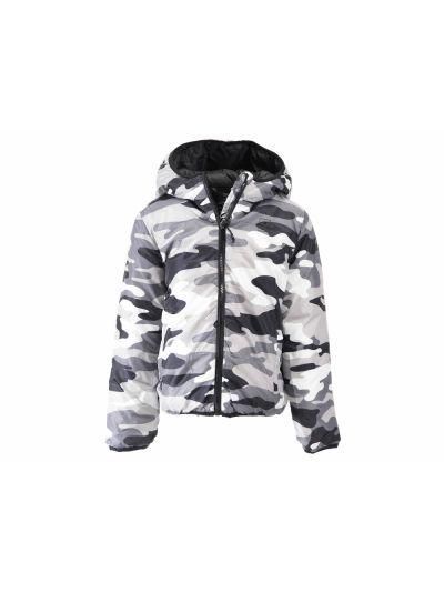 Otroška jakna Champion® s kapuco 304837 - bežprint