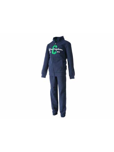 Otroški športni komplet Champion® 304849 jopica, dolge hlače moder BLI
