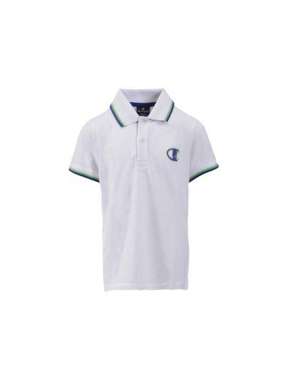 Otroška polo majica Champion® 304894 - bela