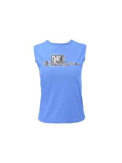 Otroška majica brez rokavov Champion® 304951 - modra