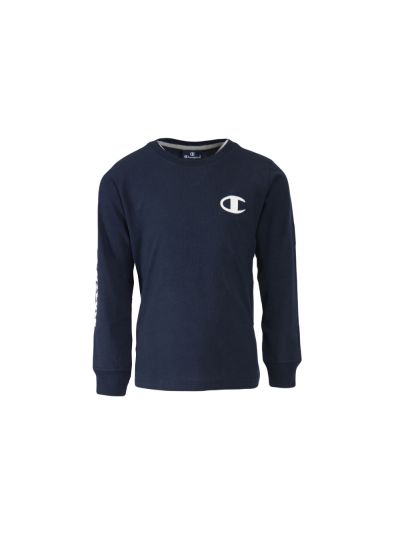 Otroška majica Champion® 305017 dolg rokav - navy
