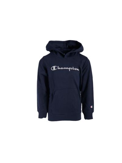 Otroški pulover s kapuco Champion 305163 - navy