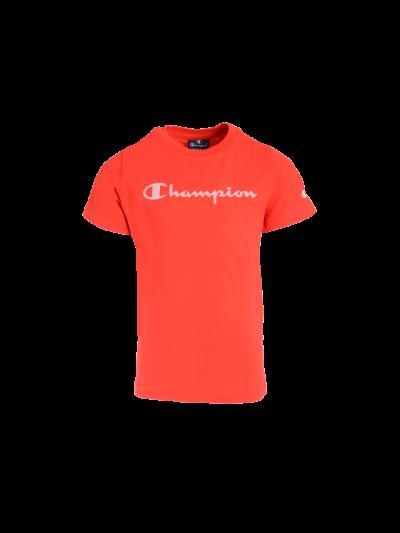 Otroška majica s kratkimi rokavi Champion 305169 - rdeča