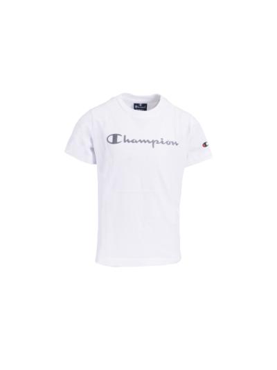Otroška majica s kratkimi rokavi Champion® 305169 - bela