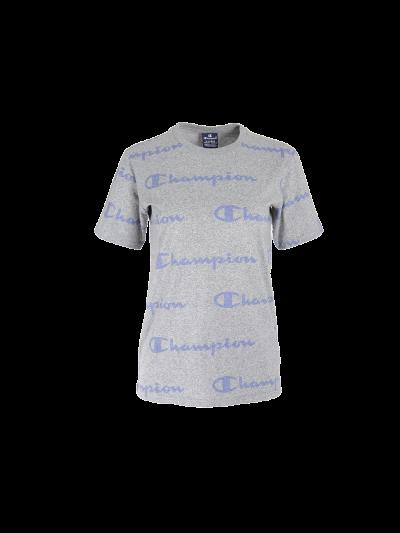 Otroška športna majica s kratkimi rokavi Champion® PRINT 305171 - siva