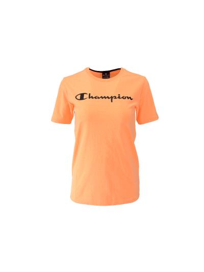 Fantovska športna majica s kratkimi rokavi Champion® 305194 - fluo oranžna