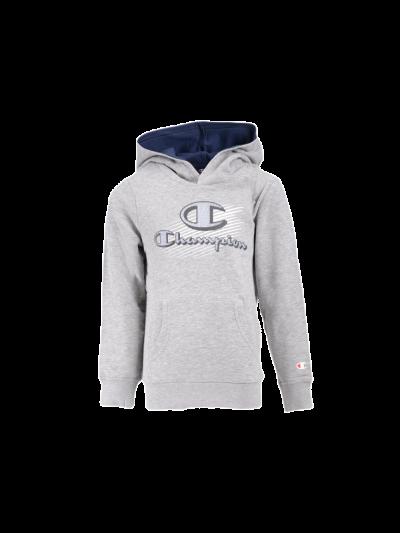 Otroški pulover Champion® 305206 s kapuco - siv