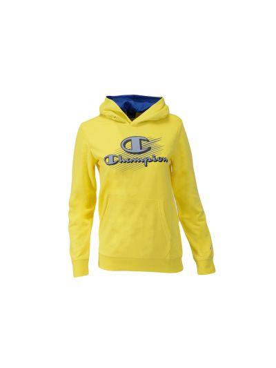 Otroški pulover s kapuco Champion 305206 GRAPHIC - rumen