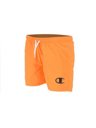 Otroške kratke kopalne hlače Champion 305272 - oranžne