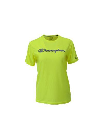 Otroška športna majica Champion TRAIN 305289 - fluo rumena