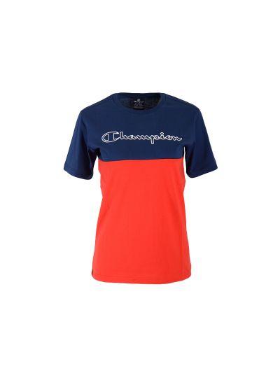 Otroška majica s kratkimi rokavi Champion 305331 - modra / rdeča