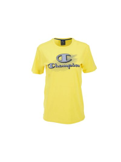 Otroška športna majica Champion GRAPHIC 305332 - rumena