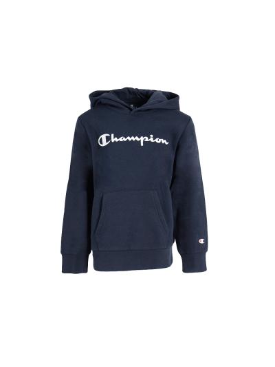 Otroški pulover s kapuco Champion 305358 - navy