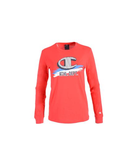 Otroška majica z dolgimi rokavi Champion 305443 - rdeča