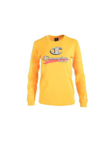 Otroška majica z dolgimi rokavi Champion 305443 - rumena
