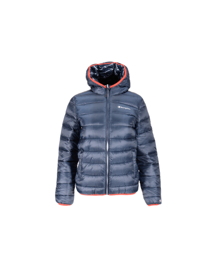 Fantovska zimska jakna s kapuco Champion® OUTDOOR - navy / rdeča