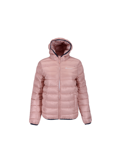 Dekliška zimska jakna s kapuco Champion® OUTDOOR 305476 - pastelno roza