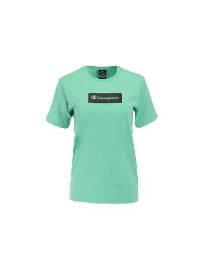 Otroška majica kratek rokav Champion 305657 - pastelno zelena