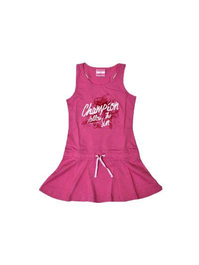 Dekliška oblekica Champion roza 402920 DP