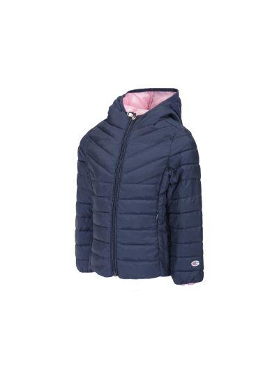 Dekliška jakna s kapuco Champion 403040 - modra BLI/BGP