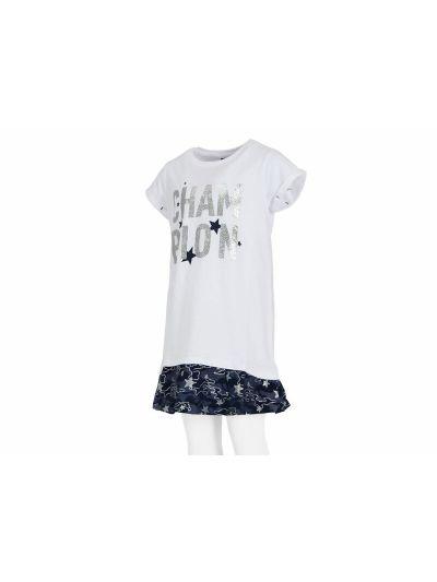 Dekliška oblekica Champion® 403317 bela Chstud WHT