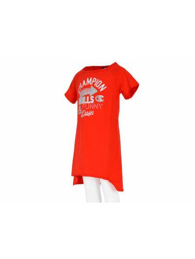 Dekliška oblekica Champion® 403385 rdeča FER