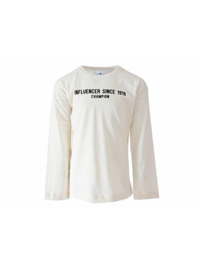 Dekliška majica Champion® 403460 dolg rokav - bež VAPY