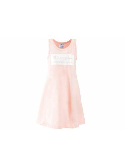 Dekliška oblekica Champion® 403561 brez rokavov pstelno-roza