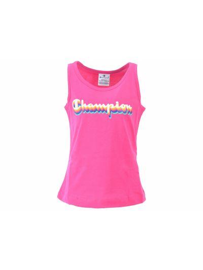 Dekliška majica Champion® 403579 brez rokavov - ciklam