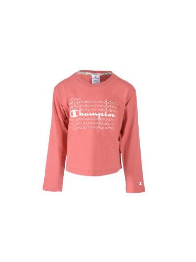 Dekliška majica Champion® 403690 dolg rokav - temno rdeča