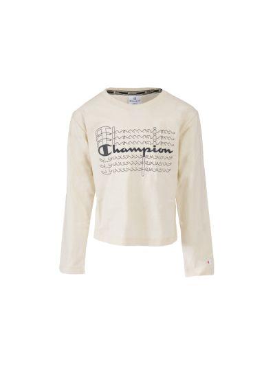 Dekliška majica Champion® 403690 dolg rokav - bež