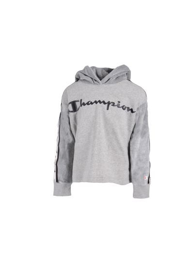 Dekliški pulover s kapuco Champion® 403693 - siv