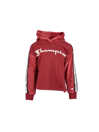 Dekliški pulover s kapuco Champion® 403693 - rdeč