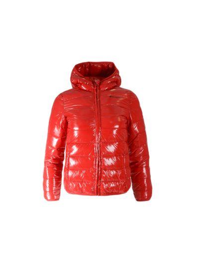 Dekliška jakna Champion® s kapuco 403740 - rdeča