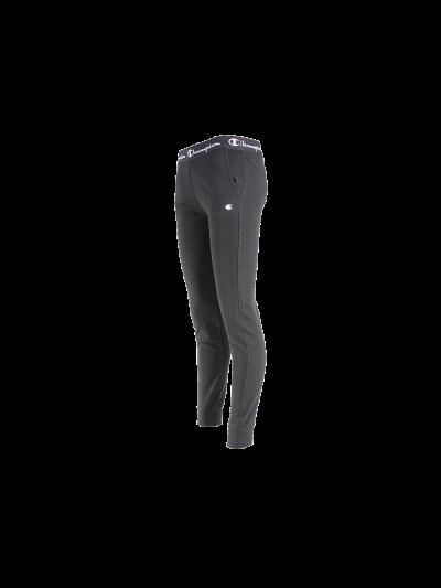 Dekliške hlače na patent Champion 403800 Rib Cuff - črne