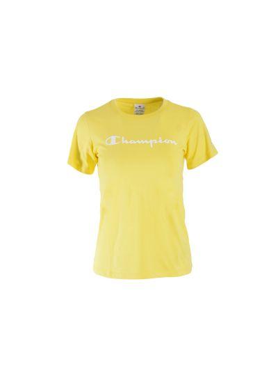 Dekliška športna majica Champion 403805 - rumena