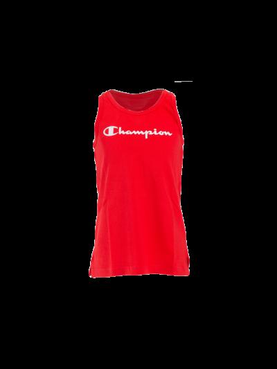 Dekliška majica brez rokavov Champion C403810 - rdeča