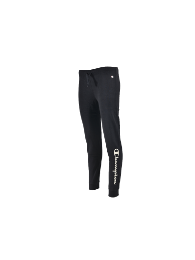 Dekliške hlače na patent Champion® 403923 - črne