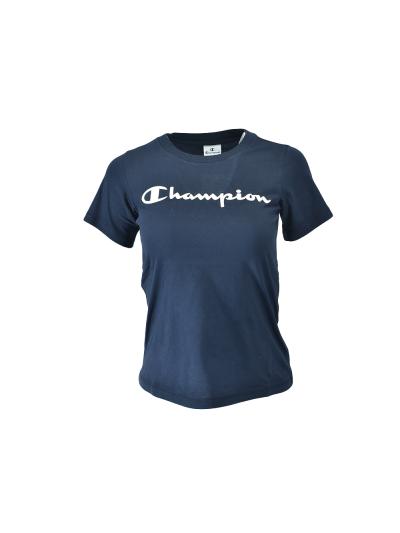 Dekliška športna majica s kratkimi rokavi Champion® 403927 - navy