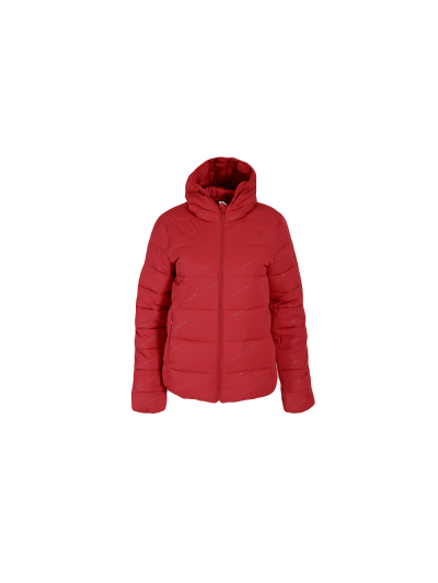 Dekliška jakna s kapuco Champion® OUTDOOR AllOver 403978 - bordo