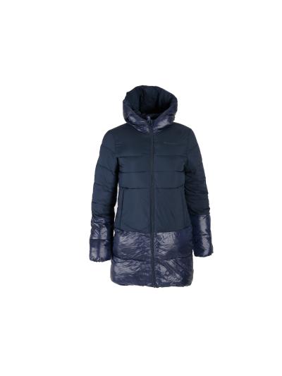 Dekliška jakna s kapuco Champion OUTDOOR 403980 - navy