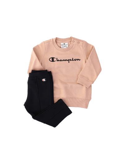 Dekliški baby komplet Champion - pastelno roza