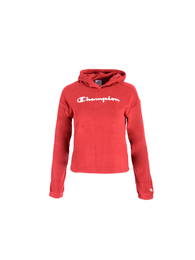 Dekliški pulover - velur s kapuco Champion 404016 - bordo