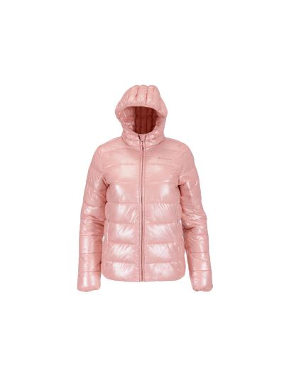 Dekliška zimska jakna s kapuco Champion® OUTDOOR 404022 - pastelno roza